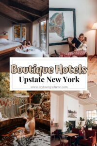 Boutique Hotels in Upstate New York