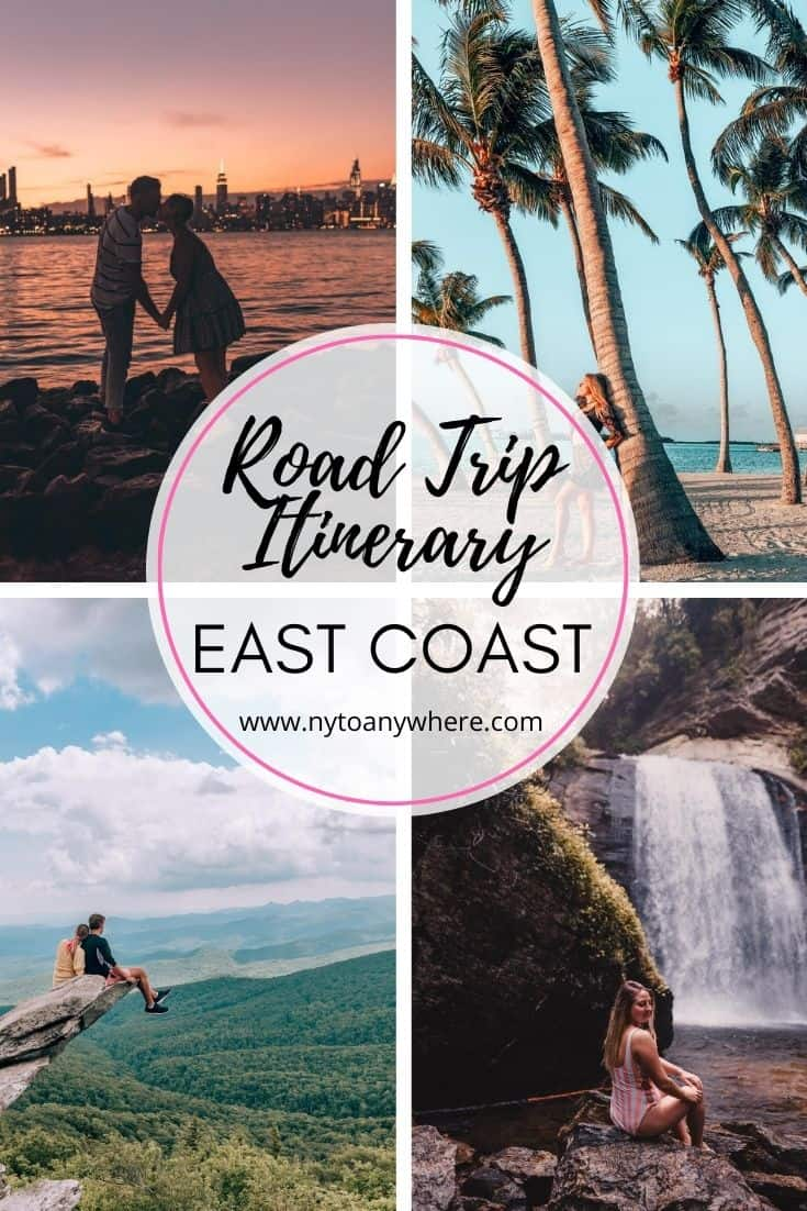 East Coast Road Itinerary