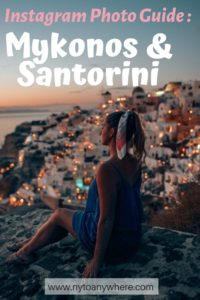 mykonos and santorini