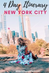 New York in 4 days: NYC Itinerary