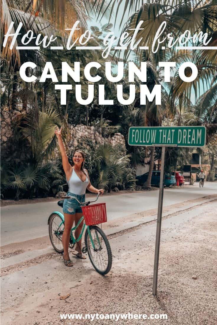 Cancun to Tulum