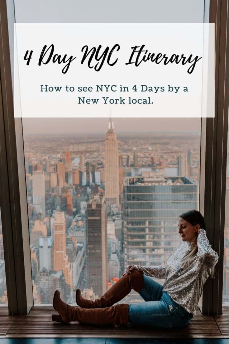 4 day nyc itinerary