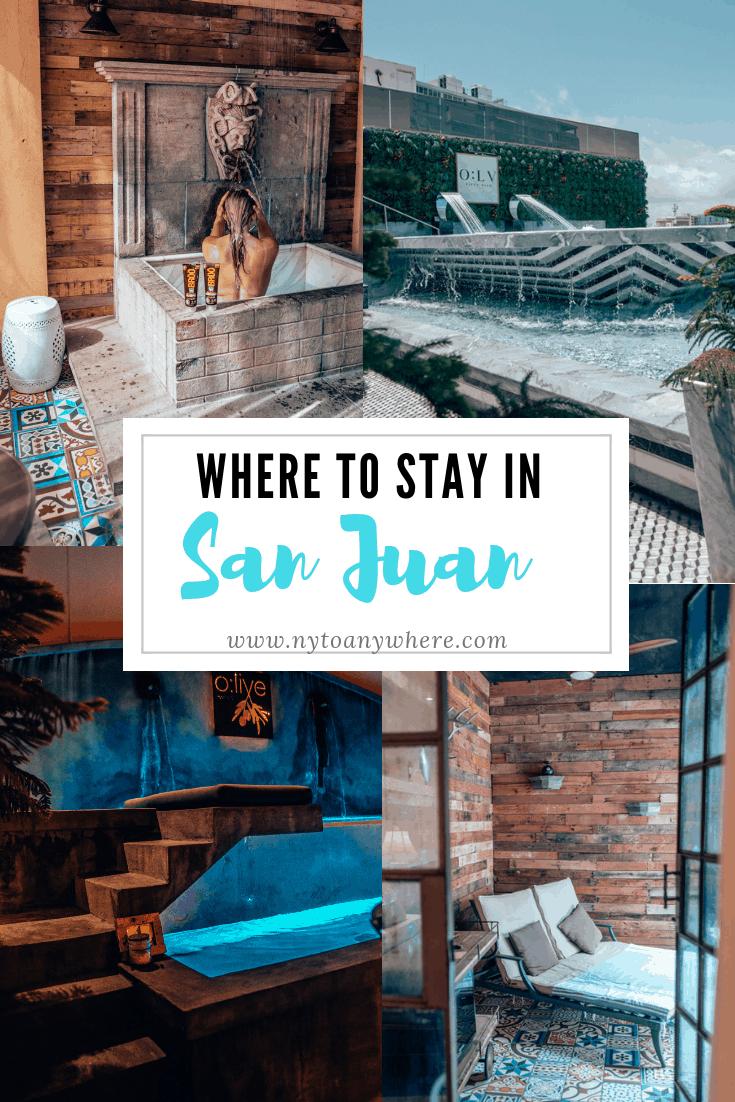 San Juan Hotel Pin