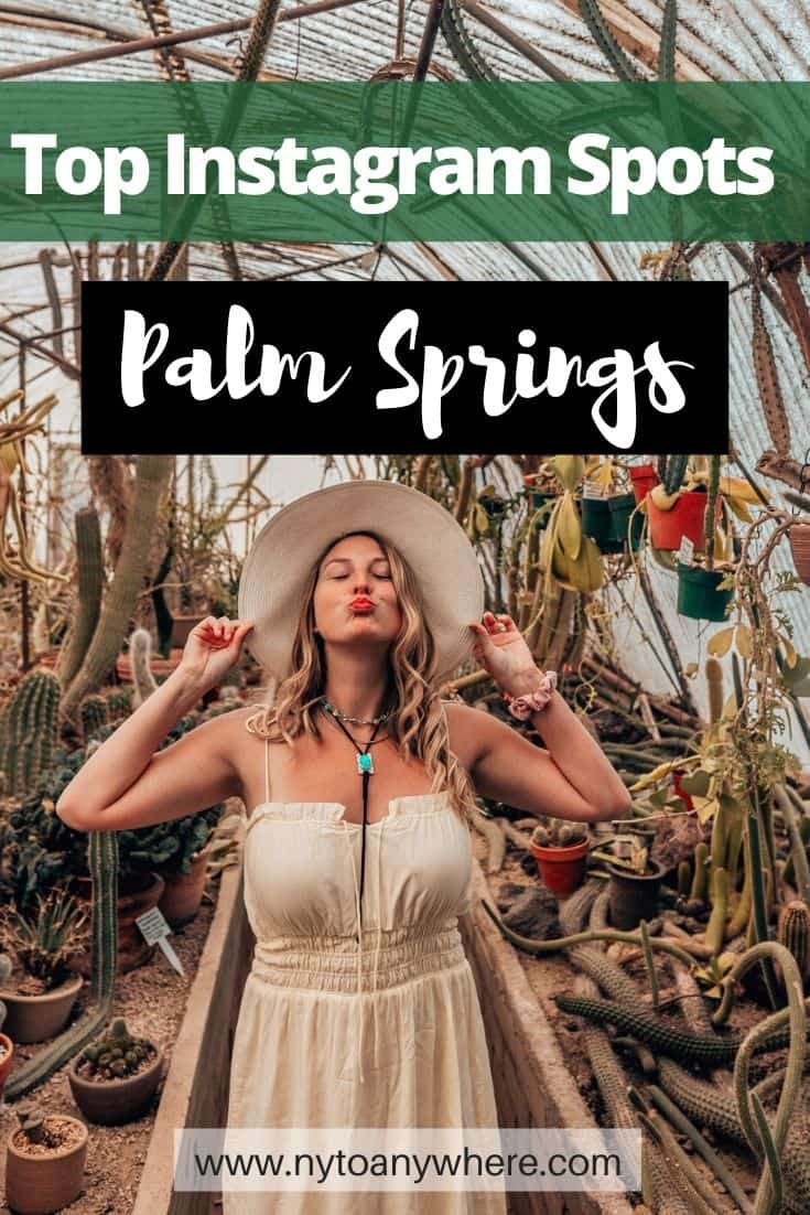 Palm Springs Instagram Spots