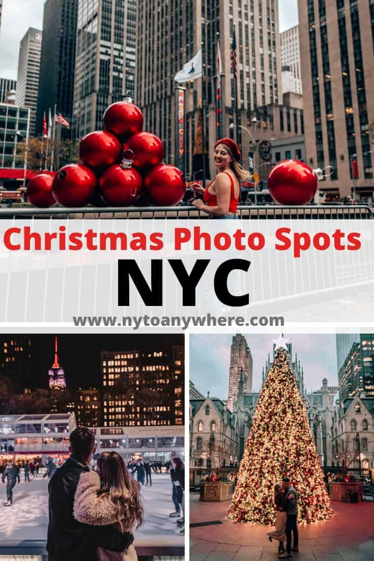 Christmas Photo Spots NYC