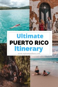 Puerto Rican itinerary