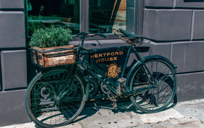 Hertford House Hotel Bike