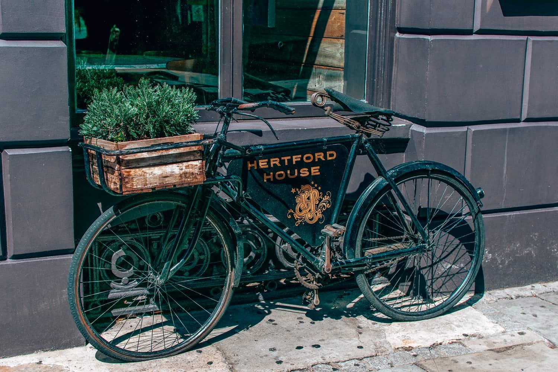 Hertford House Hotel Bike
