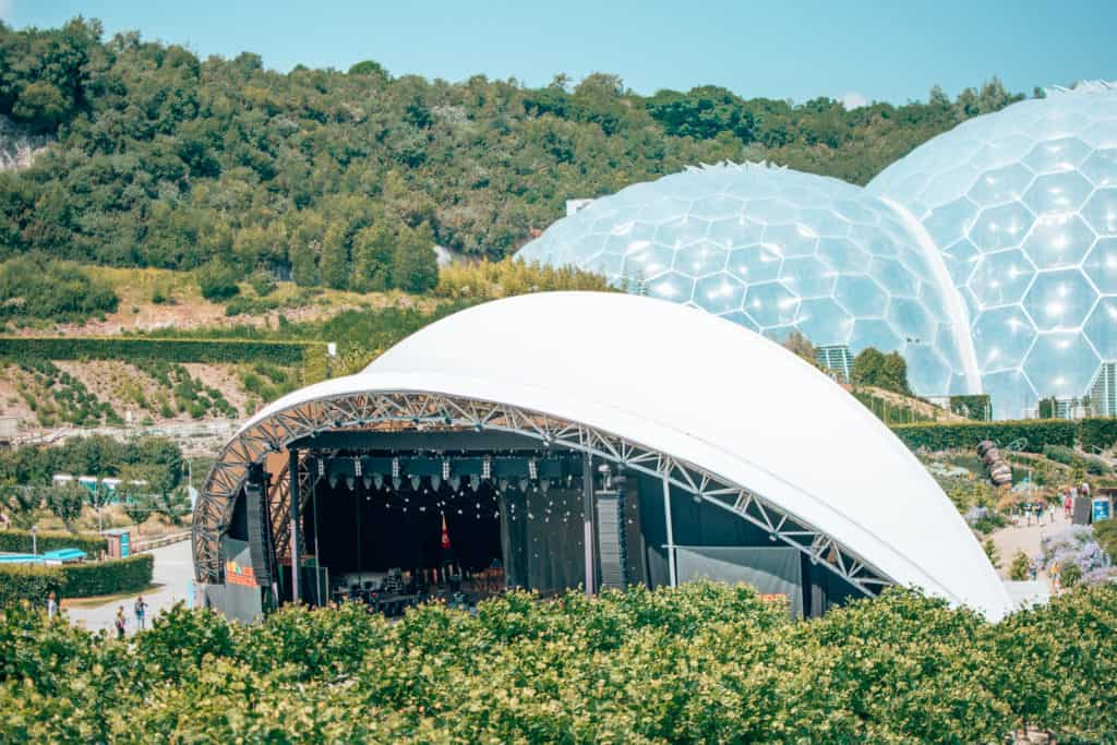 The Eden Sessions stage
