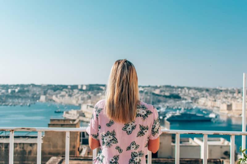Penthouse, Valletta Lucente view