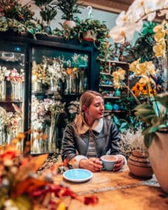 floral cafe in new york