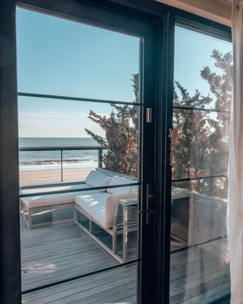 balcony seafront room, Gurney's