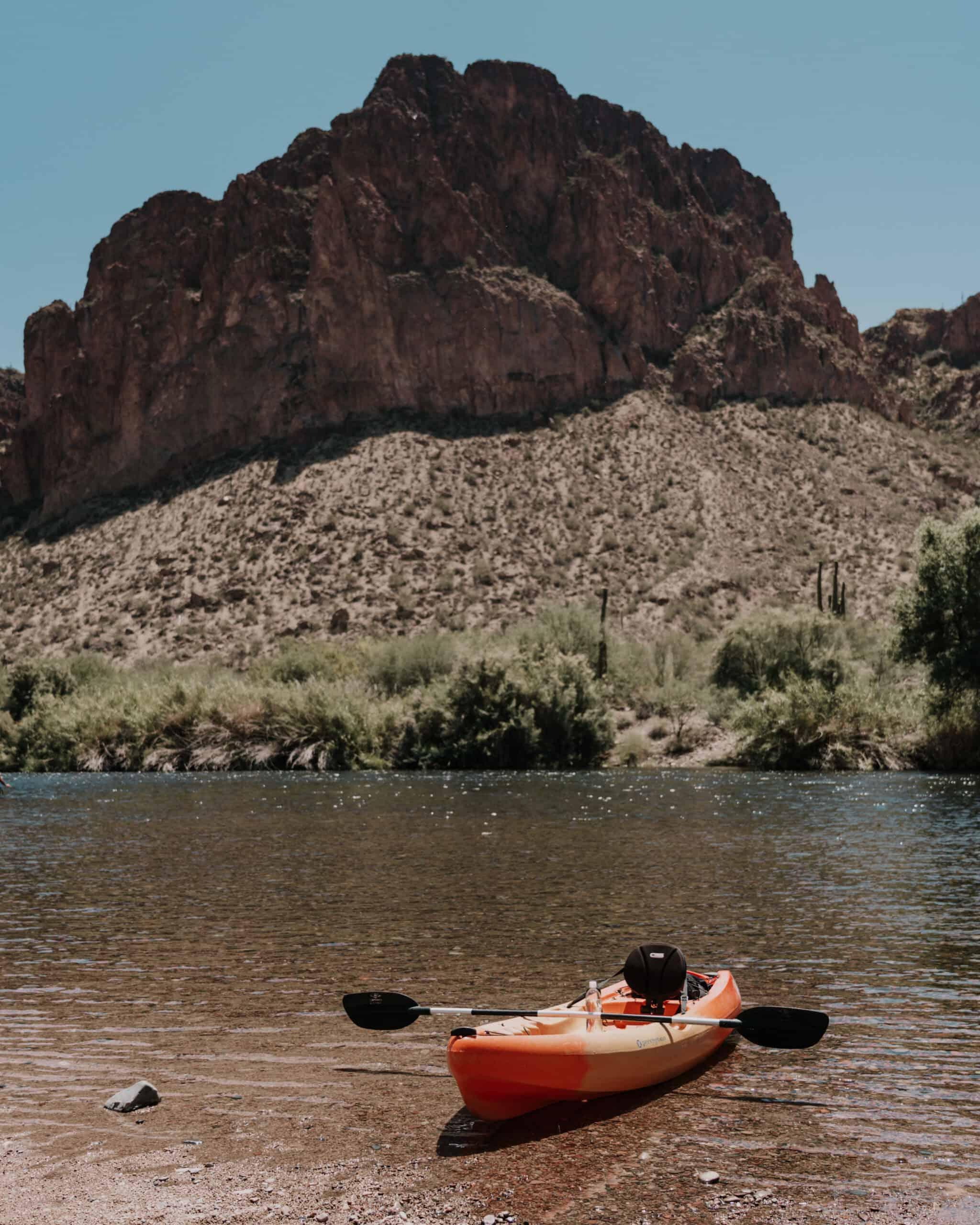 Kayaking in the Salt River
