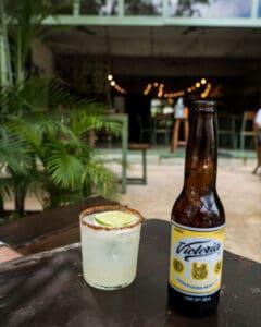 drinks at Safari Aldea Zama Tulum