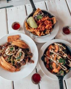 Latin Brunch food