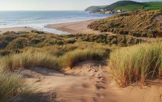 Croyde Beach Dunes, Devon