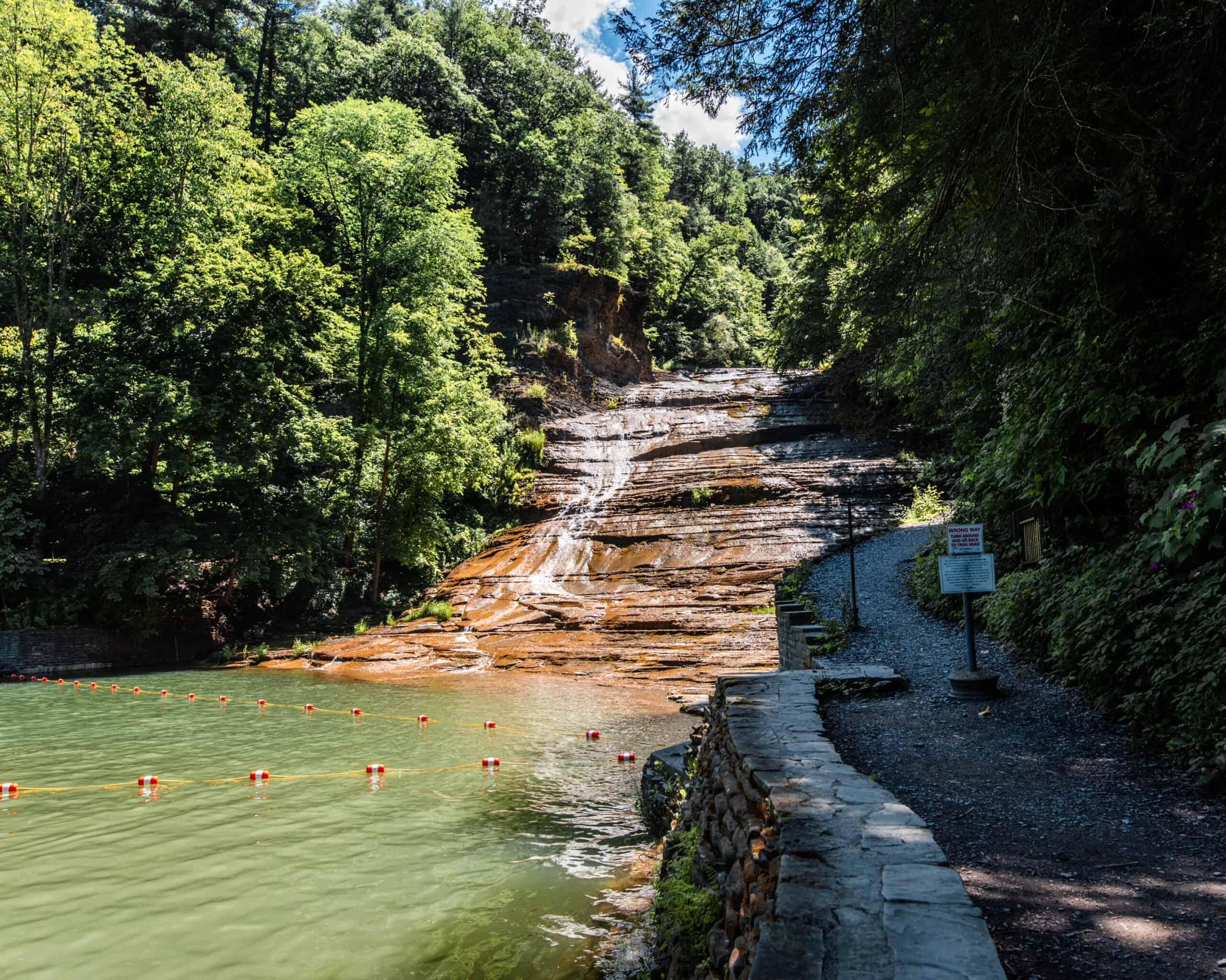 Buttermilk Falls, Finger Lakes Waterfalls