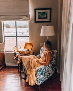 Kimpton Canary Hotel armchair