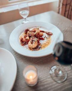 shrimp and garlic dish