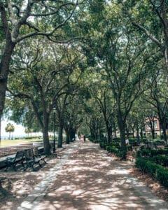 Savannah Waterfront walk