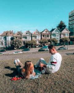 Couples Picnic, Painted Ladies, SF