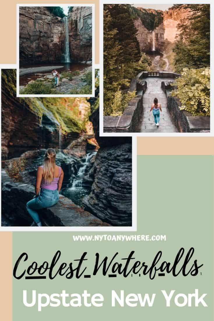 Visiting Waterfalls Finger Lakes New York