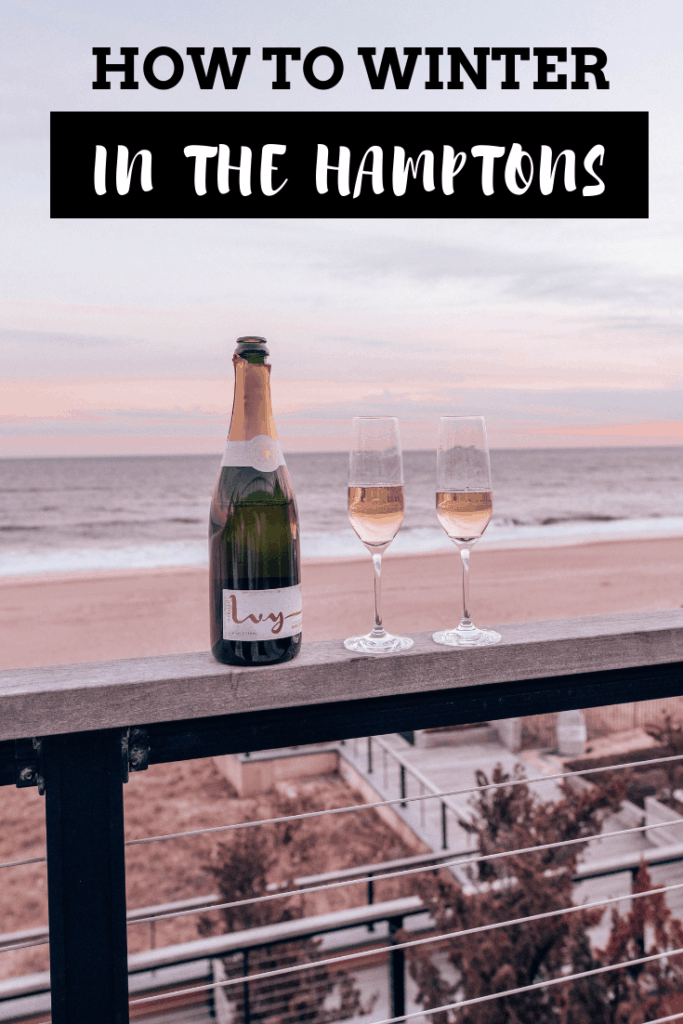 How to Winter in the Hamptons