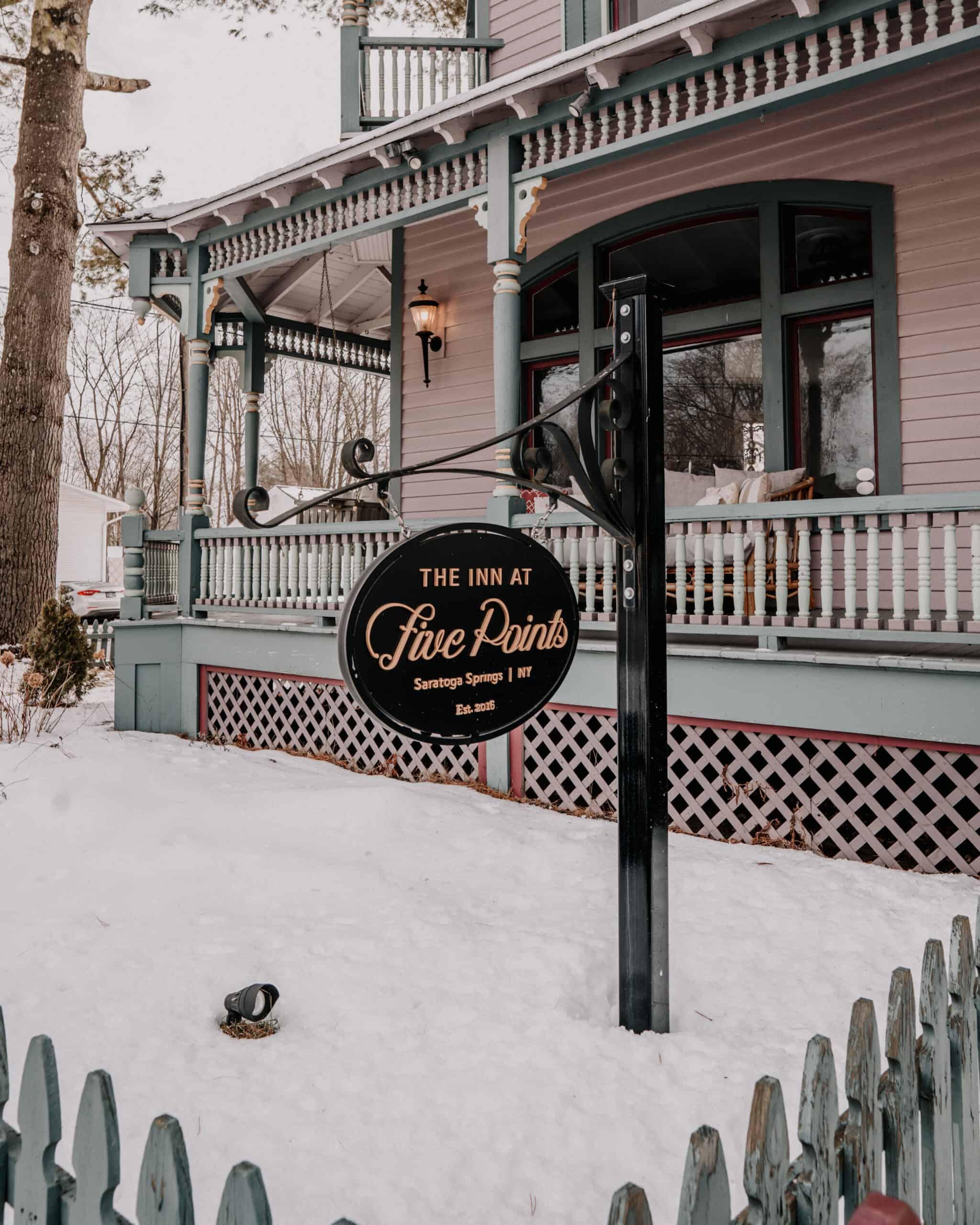 The Inn at Five Points Saratoga NY