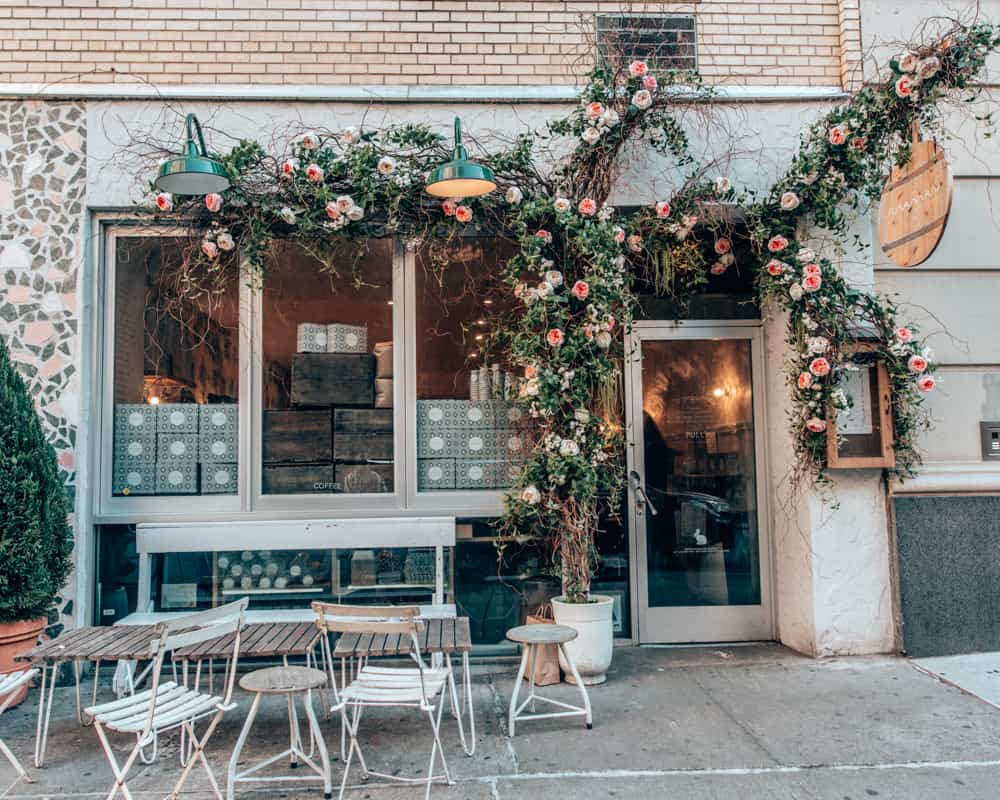 cute coffee shops in new york