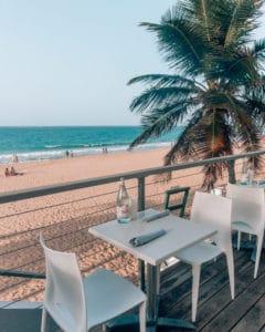restaurant on beach