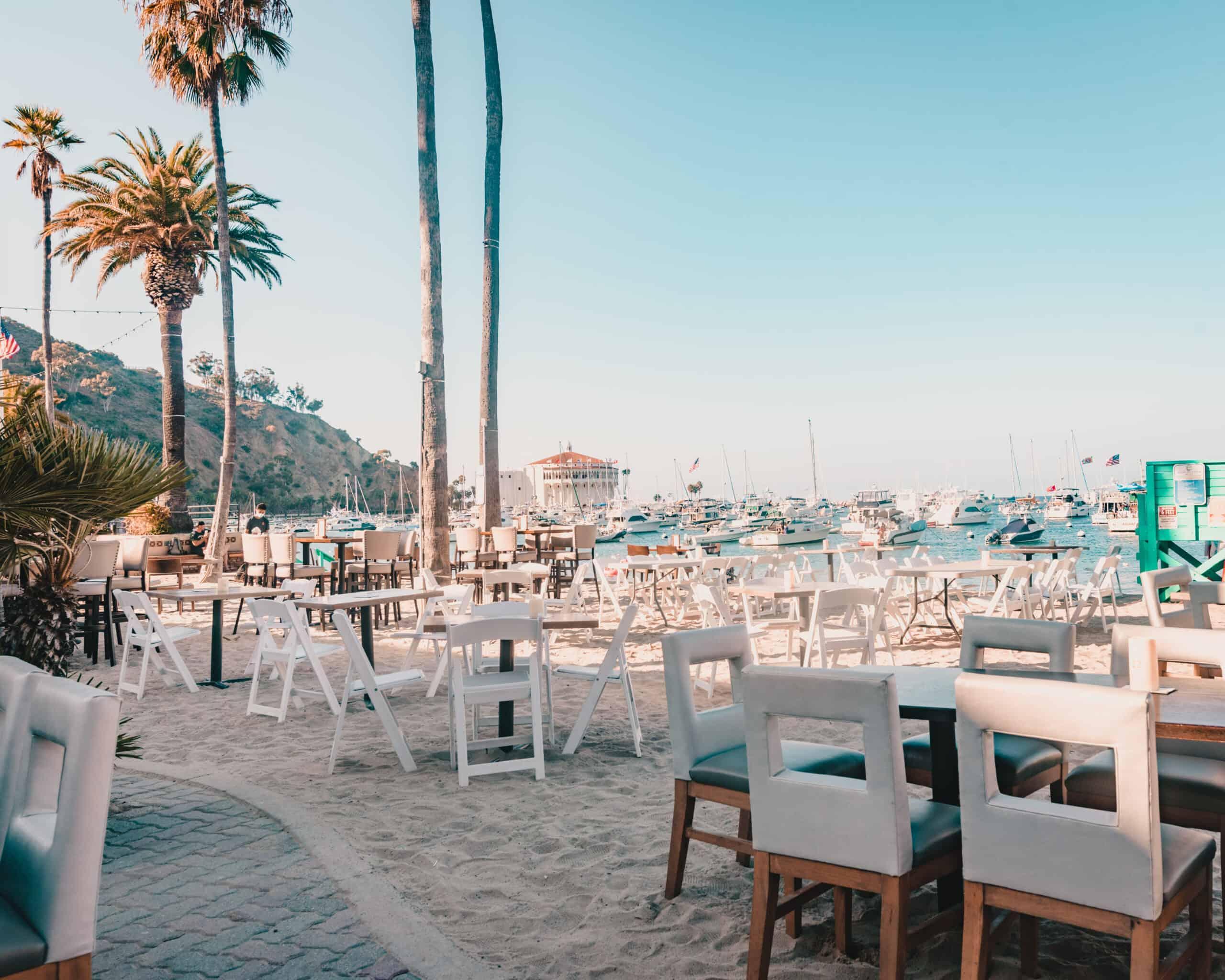 Outdoor Dining Santa Catalina Island, California