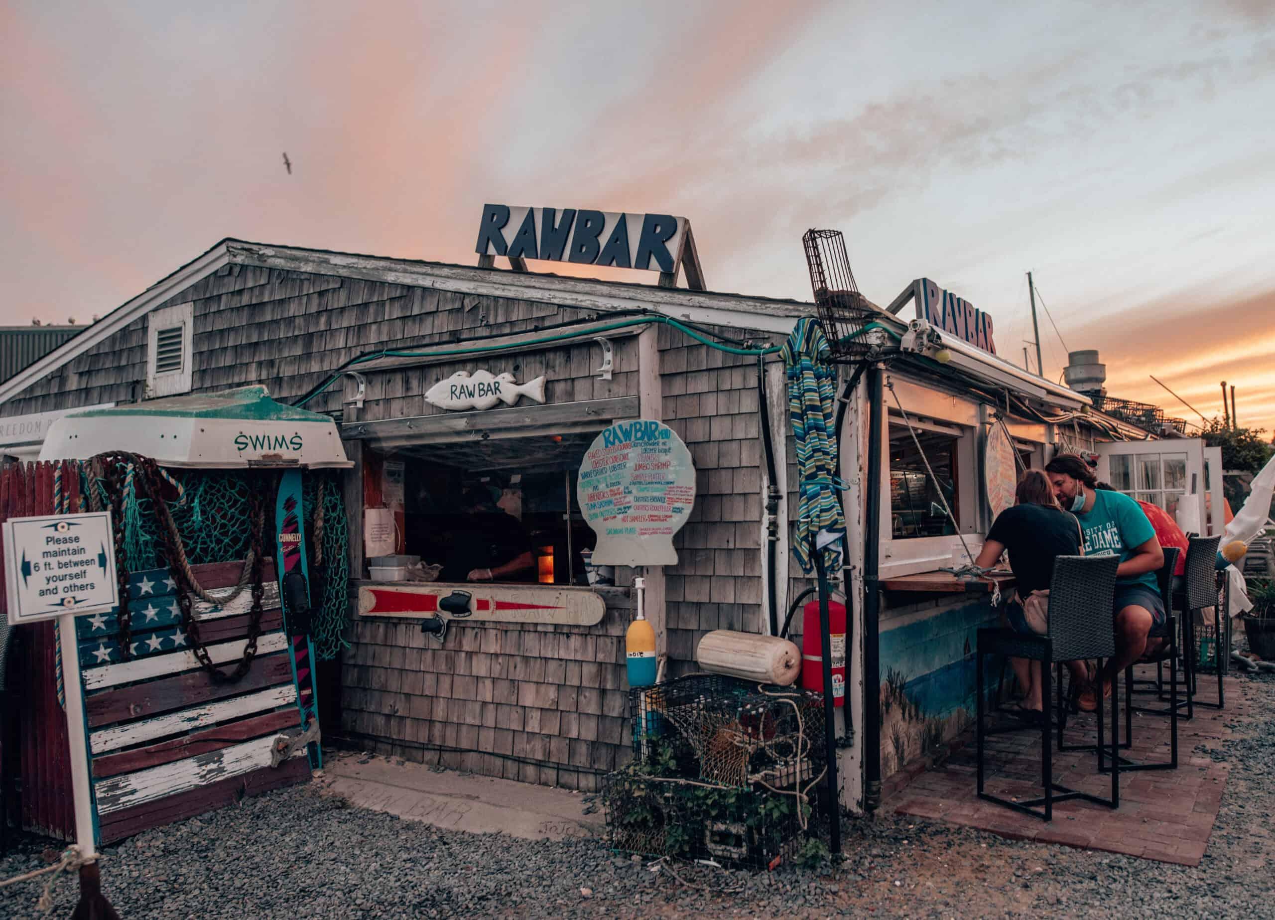 Sesuit Harbor Cafe Raw Bar