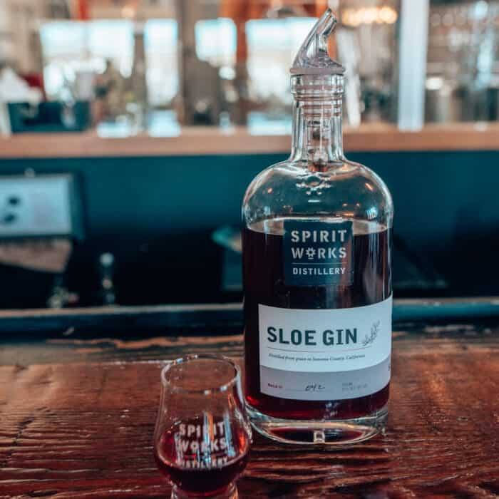 Slow Gin at Spririt Works Distillery