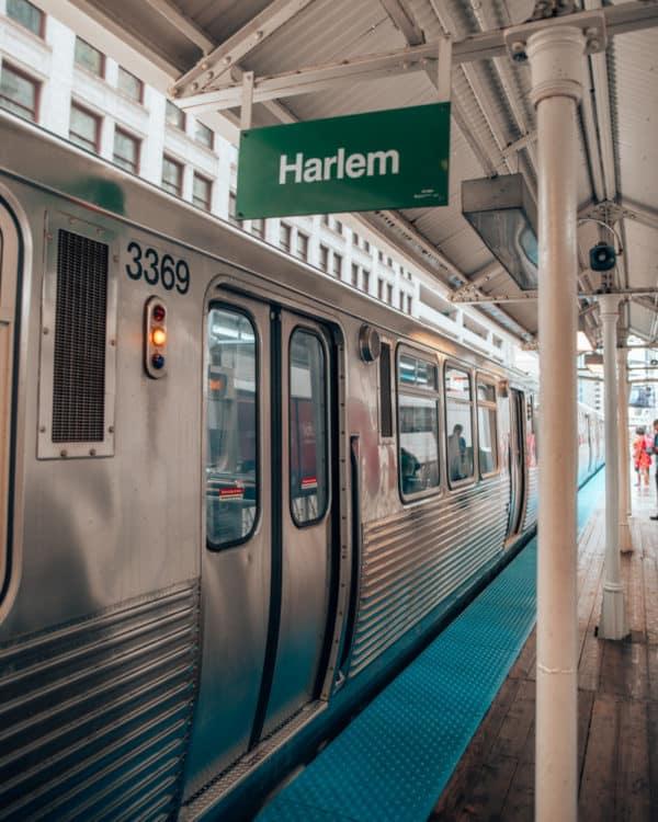 """Chicago """"L"""" train"""