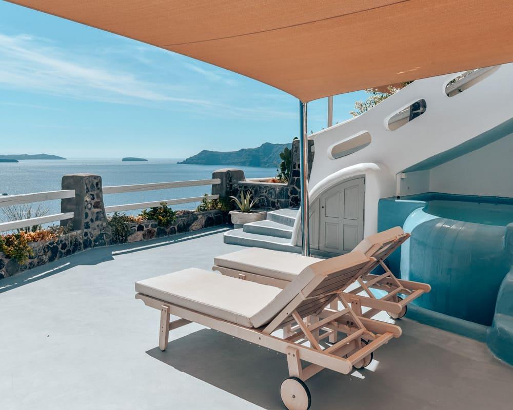 Thirea Suites, Oia, Santorini