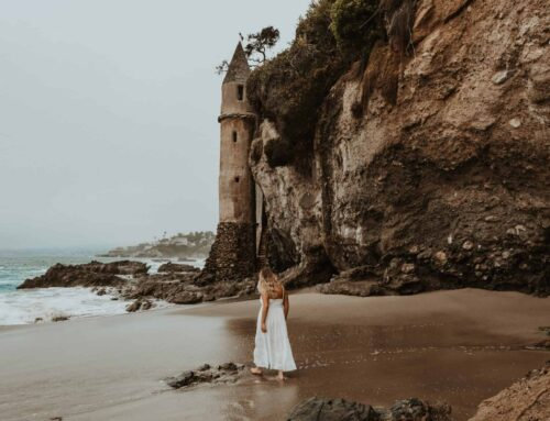 Visiting Victoria Beach's Pirate Tower in Laguna Beach, California