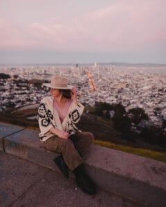Sunset, Twin Peaks, SF