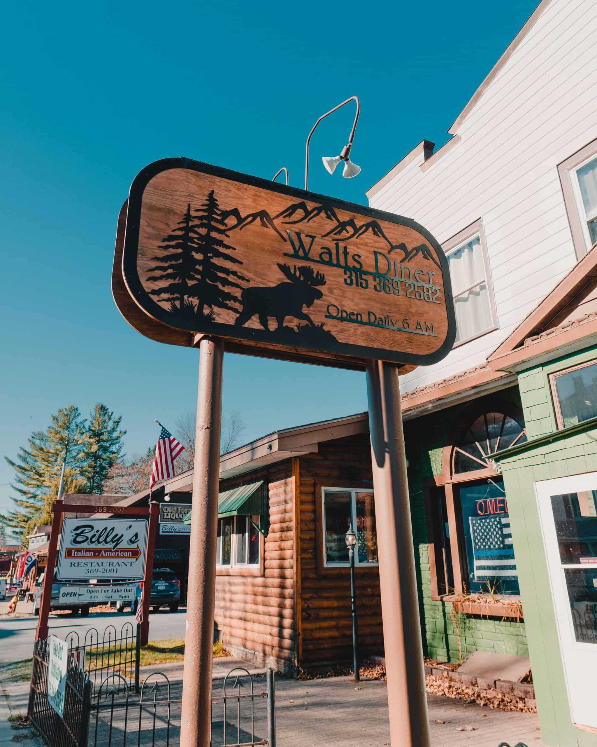 Walts Diner Old Forge New York