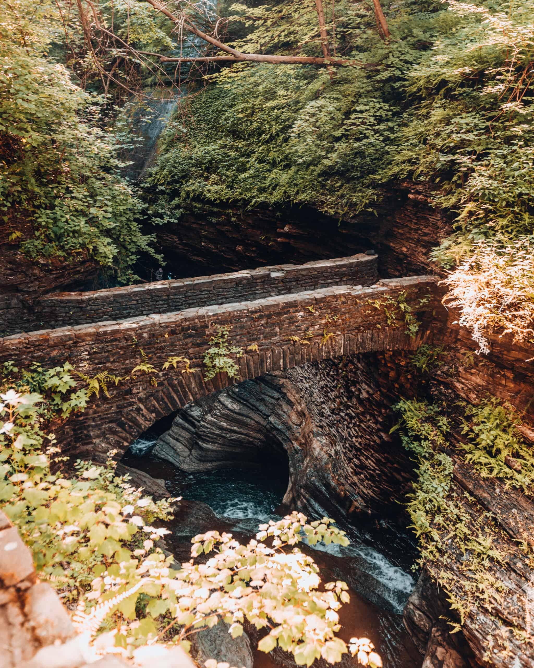 Bridge Watkins Glen State Park